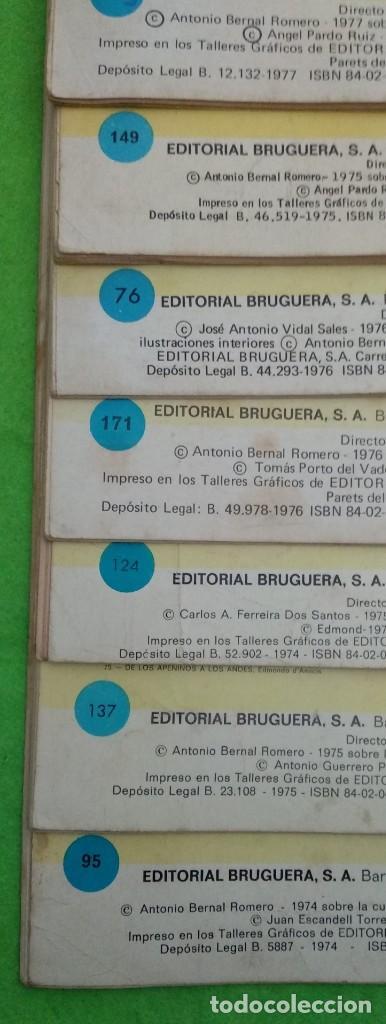 Tebeos: LOTE DE 14 JOYAS LITERARIAS JUVENILES TODOS DE EMILIO SALGARI - VER TODAS LAS FOTOS - Foto 32 - 190758951