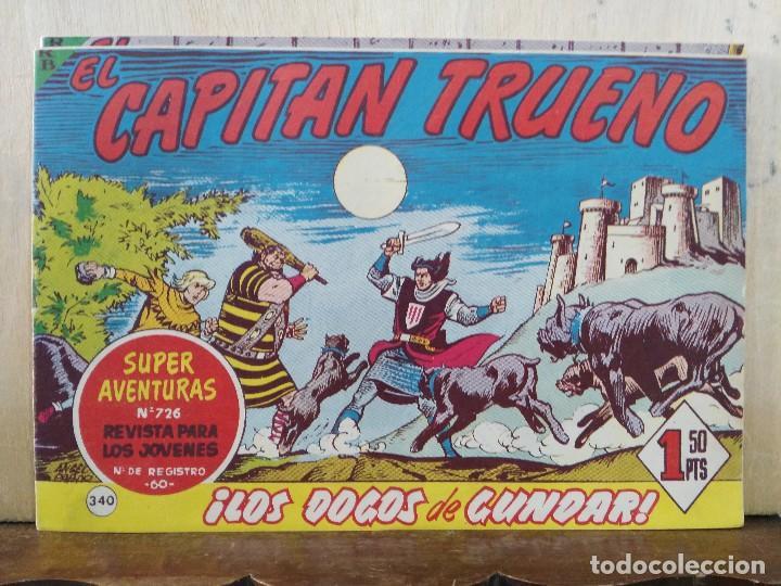 CAPITÁN TRUENO (ORIGINAL) - Nº 340 - ED. BRUGUERA (Tebeos y Comics - Bruguera - Capitán Trueno)