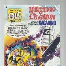 Tebeos: COLECCIÓN OLÉ 165: MORTADELO Y FILEMÓN, 1978, BRUGUERA, PRIMERA EDICIÓN, BUEN ESTADO. Lote 190820037