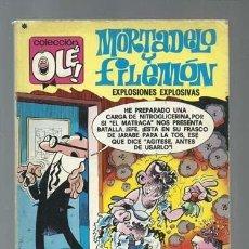Tebeos: COLECCIÓN OLÉ 152: MORTADELO Y FILEMÓN, 1978, BRUGUERA, PRIMERA EDICIÓN. Lote 190822126