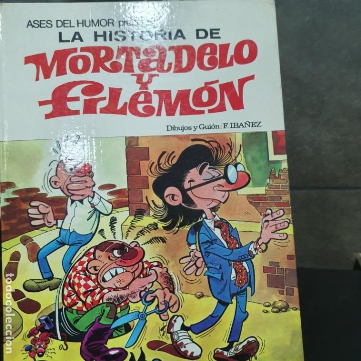 Tebeos: LOTE DE 4 LIBROS DE MORTADELO Y FILEMON - Foto 2 - 190873458