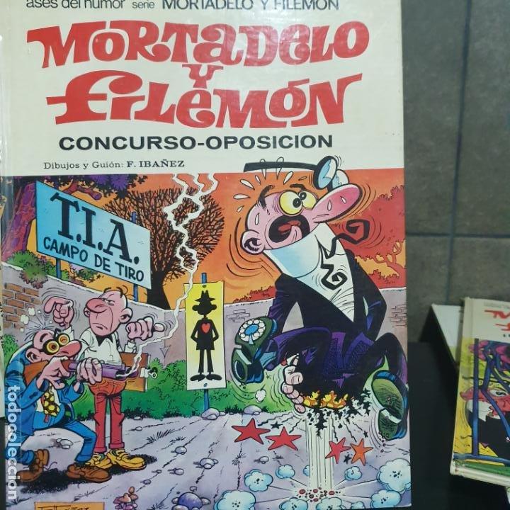 Tebeos: LOTE DE 4 LIBROS DE MORTADELO Y FILEMON - Foto 4 - 190873458