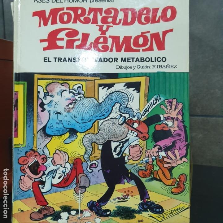 LOTE DE 4 LIBROS DE MORTADELO Y FILEMON (Tebeos y Comics - Bruguera - Mortadelo)