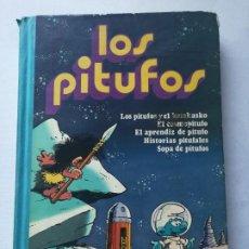 Tebeos: TOMO Nº 2 DE LOS PITUFOS.ED.BRUGUERA.. Lote 190880556