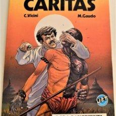 Tebeos: CÁRITAS Nº 9 - BODA SANGRIENTA - C. VICINI Y M. GAUDO - AÑO 1983 - 1ª EDICIÓN. Lote 190977483