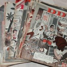 Tebeos: LOTE DE 44 NÚMEROS DE LA REVISTA DDT AÑO 1965 ED. BRUGUERA. Lote 190980788