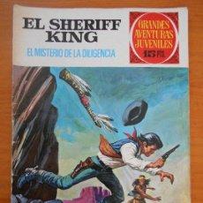 Tebeos: GRANDES AVENTURAS JUVENILES Nº 42 - EL SHERIFF KING - EL MISTERIO DE LA DILIGENCIA (T1). Lote 191065136