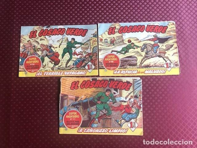 EL COSACO VERDE ORIGINAL Nº 2 ,3 Y 4 (Tebeos y Comics - Bruguera - Cosaco Verde)