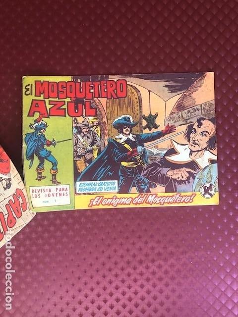 NUMERO ESPECIAL CAPITAN TRUENO 298 INCLUYE Nº 1 MOSQUETERO AZUL (Tebeos y Comics - Bruguera - Cosaco Verde)