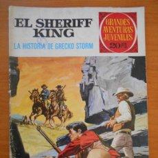 Tebeos: GRANDES AVENTURAS JUVENILES Nº 20 - EL SHERIFF KING - LA HISTORIA DE GRECKO STORM (W1). Lote 191144260
