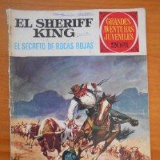 Tebeos: GRANDES AVENTURAS JUVENILES Nº 21 - EL SHERIFF KING - EL SECRETO DE ROCAS ROJAS (W1). Lote 191144368