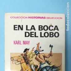 Tebeos: KARL MAY. EN LA BOCA DEL LOBO. Lote 191196781