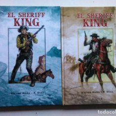 Tebeos: SHERIFF KING 2 TOMOS COMPLETA EDICIONES B 2006 (DESC. 50%). Lote 191202783