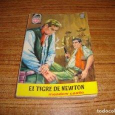 Tebeos: NOVELA COLECCION BRAVO OESTE MEADOW CASTLE Nº 95 FOTO HARRY BELAFONTE . Lote 191237801