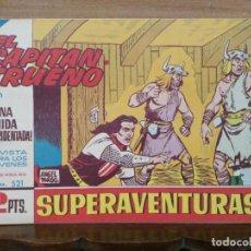 Tebeos: CAPITÁN TRUENO (ORIGINAL) - Nº 521 - ED. BRUGUERA. Lote 191243411