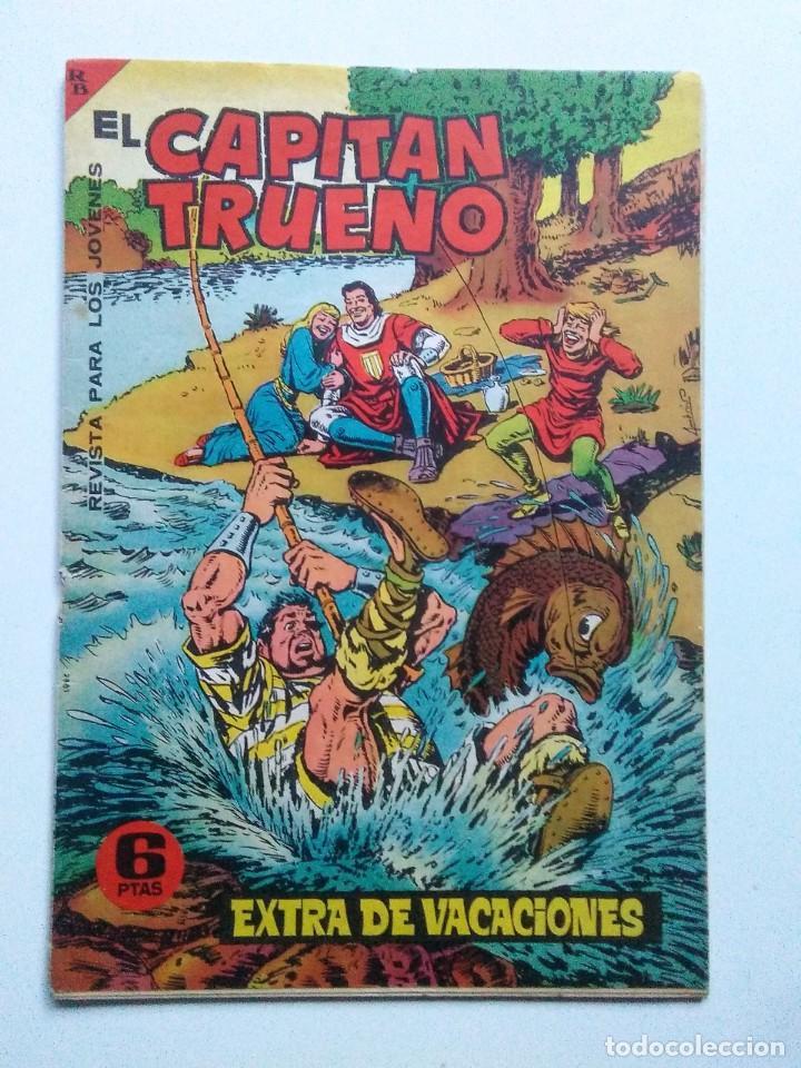 CAPITAN TRUENO EXTRA VACACIONES 1964 ORIGINAL BRUGUERA AMBROS (Tebeos y Comics - Bruguera - Capitán Trueno)