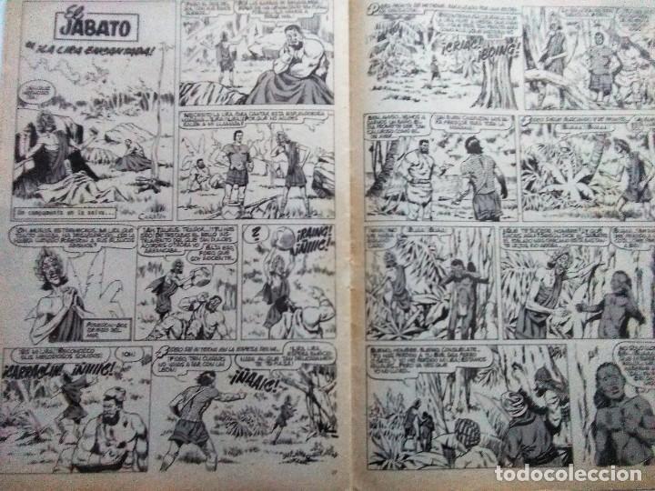 Tebeos: CAPITAN TRUENO EXTRA VACACIONES 1964 ORIGINAL BRUGUERA AMBROS - Foto 9 - 191277830