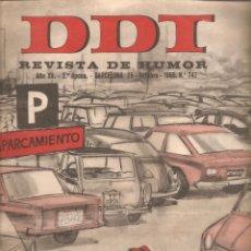 Tebeos: 867. DDT 25 DE OCTUBRE DE 1965. Nº 747. Lote 191295240