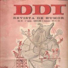 Tebeos: 868. DDT. 8 DE NOVIEMBRE DE 1965. Nº 748. Lote 191295457