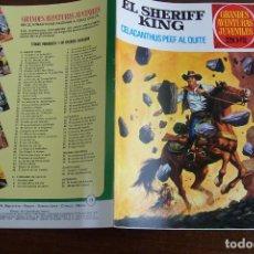 Tebeos: BRUGUERA,- GRANDES AVENTURAS JUVENILES Nº 71 SHERIFF KING. Lote 191298621