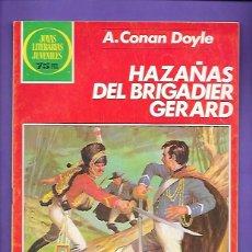 Tebeos: JOYAS LITERARIAS JUVENILES NUMERO 267 HAZAÑAS DEL BRIGADIER GERARD. Lote 191319403
