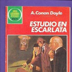 Tebeos: JOYAS LITERARIAS JUVENILES NUMERO 264 ESTUDIO EN ESCARLATA. Lote 191319917