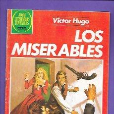 Tebeos: JOYAS LITERARIAS JUVENILES NUMERO 263 LOS MISERABLES. Lote 191320098