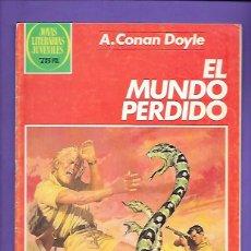 Tebeos: JOYAS LITERARIAS JUVENILES NUMERO 257 EL MUNDO PERDIDO. Lote 191327540
