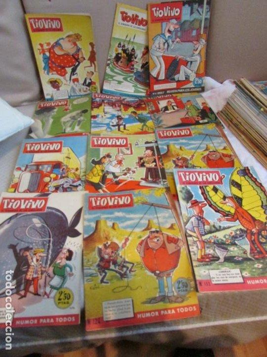 TIO VIVO Nº 51- 111 - 85 - 44- 124 - 67 - 150 -125 - 124 - 165 - 152 - 170 (Tebeos y Comics - Bruguera - Tio Vivo)