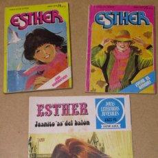 Tebeos: LOTE 3 TEBEOS ESTHER Nº 9 Y 16 + JOYAS LITERALES JUVENILES Nº 42. Lote 26812559