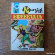 Tebeos: OESTE LEGENDARIO. Nº 241 TESTAMENTO MALDITO MARCIAL LAFUENTE ESTEFANIA BRUGUERA. Lote 191405733