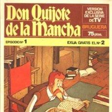 Tebeos: DON QUIJOTE DE LA MANCHA - Nº 1 -VERSIÓN DE LA SERIE DE TV-1978-CRUZ DELGADO-BUENO-LEAN-2593. Lote 191469070