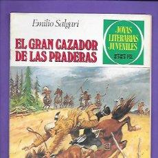 Tebeos: JOYAS LITERARIAS JUVENILES NUMERO 241 EL GRAN CAZADOR DE LAS PRADERAS. Lote 191487056