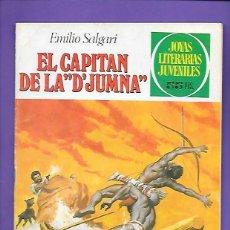 Tebeos: JOYAS LITERARIAS JUVENILES NUMERO 240 EL CAPITAN DE LA D'JUMNA. Lote 191487753
