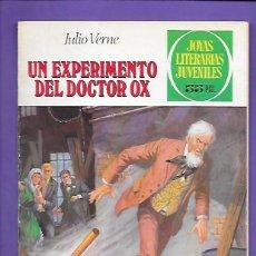 Tebeos: JOYAS LITERARIAS JUVENILES NUMERO 238 UN EXPERIMENTO DEL DOCTOR OX. Lote 191488918