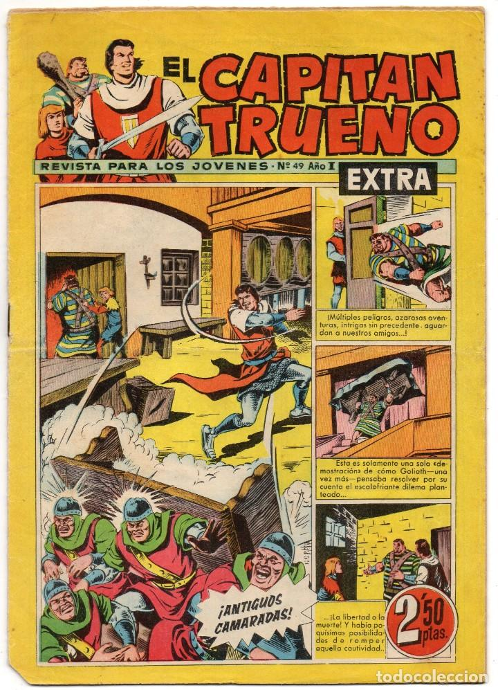 CAPITAN TRUENO EXTRA Nº 49 (BRUGUERA 1960) (Tebeos y Comics - Bruguera - Capitán Trueno)