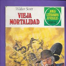 Tebeos: JOYAS LITERARIAS JUVENILES NUMERO 232 VIEJA MORTALIDAD. Lote 191495320