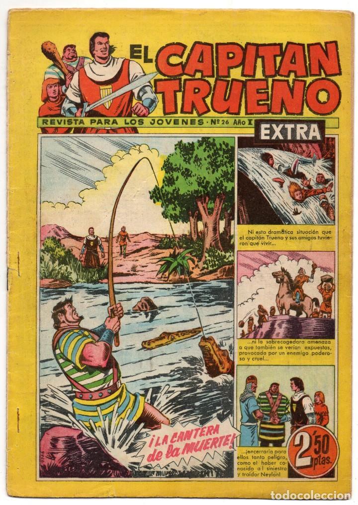 CAPITAN TRUENO EXTRA Nº 26 (BRUGUERA 1960) (Tebeos y Comics - Bruguera - Capitán Trueno)