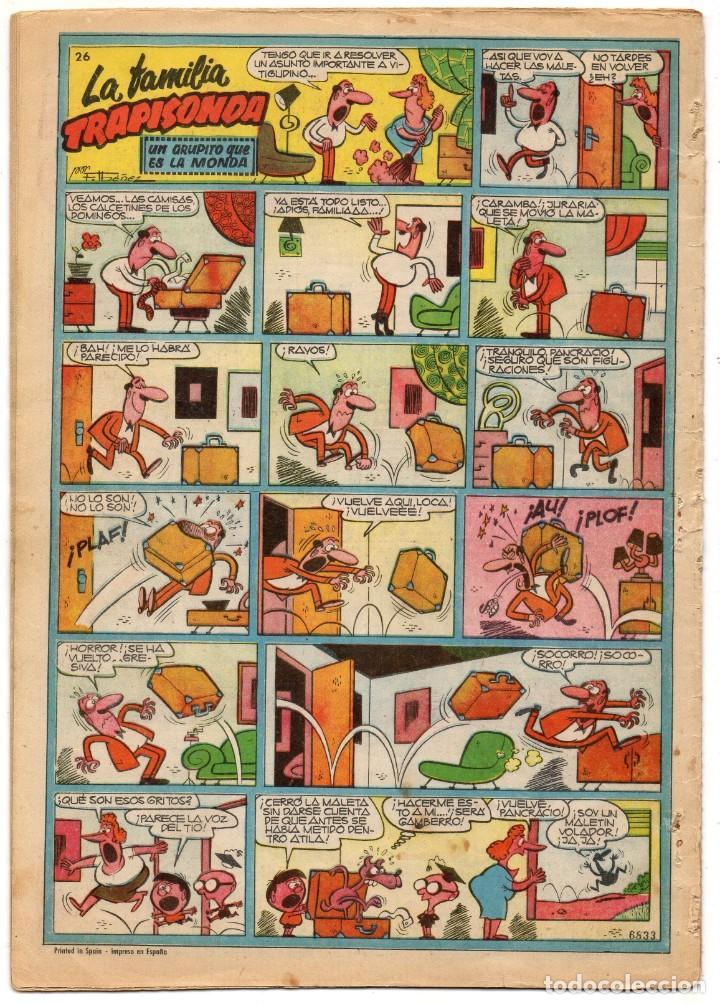 Tebeos: CAPITAN TRUENO EXTRA nº 26 (Bruguera 1960) - Foto 4 - 191496197