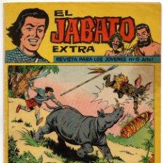 Tebeos: JABATO EXTRA Nº 19 (BRUGUERA 1962). Lote 191500568