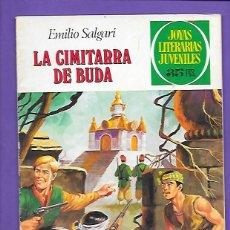 Tebeos: JOYAS LITERARIAS JUVENILES NUMERO 225 LA CIMITARRA DE BUDA. Lote 191509521
