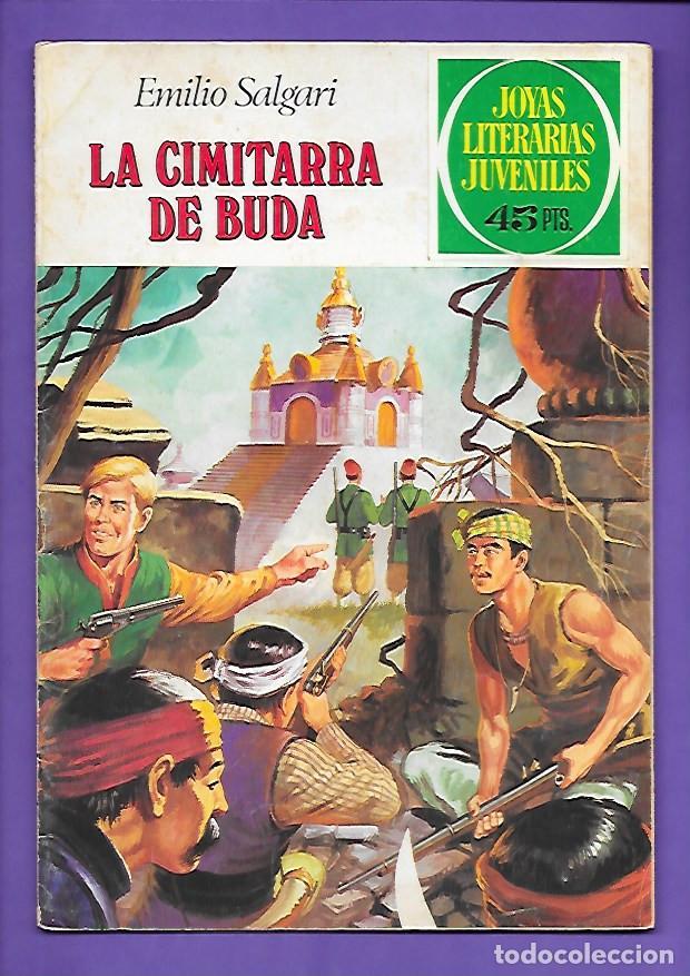 JOYAS LITERARIAS JUVENILES NUMERO 225 LA CIMITARRA DE BUDA (Tebeos y Comics - Bruguera - Joyas Literarias)