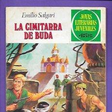 Tebeos: JOYAS LITERARIAS JUVENILES NUMERO 225 LA CIMITARRA DE BUDA. Lote 191510647