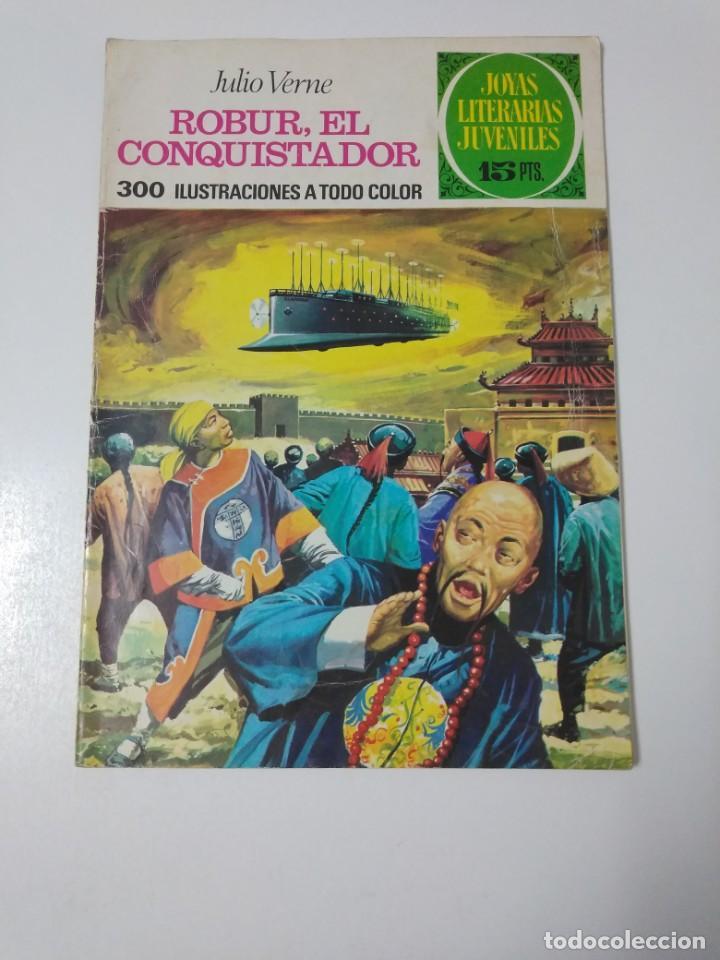 JOYAS LITERARIAS JUVENILES NÚMERO 113 ROBUR EL CONQUISTADOR 1974 PRIMERA EDICIÓN (Tebeos y Comics - Bruguera - Joyas Literarias)