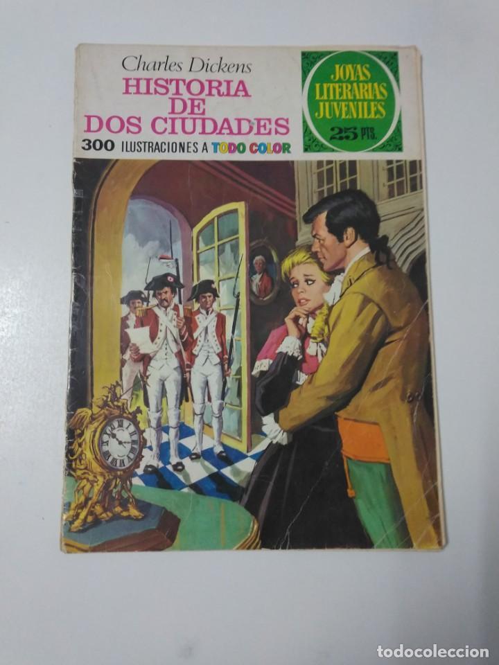 JOYAS LITERARIAS JUVENILES NÚMERO 3 HISTORIA DE DOS CIUDADES 1975 SEGUNDA EDICIÓN (Tebeos y Comics - Bruguera - Joyas Literarias)