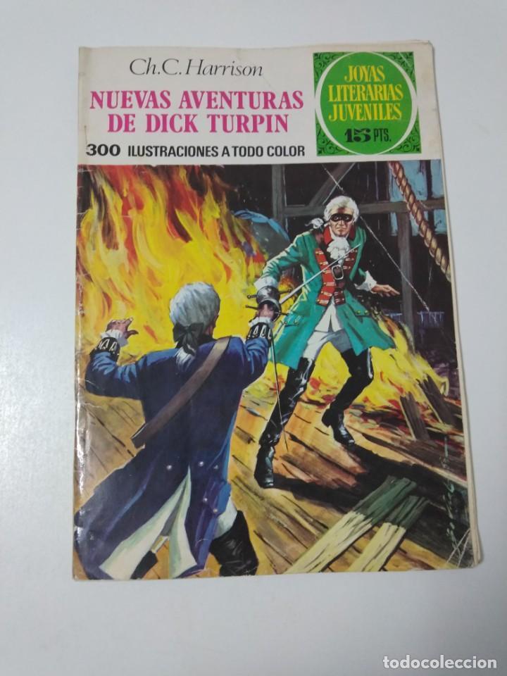 JOYAS LITERARIAS JUVENILES NÚMERO 92 NUEVAS AVENTURAS DE DICK TURPIN 1973 PRIMERA EDICIÓN (Tebeos y Comics - Bruguera - Joyas Literarias)
