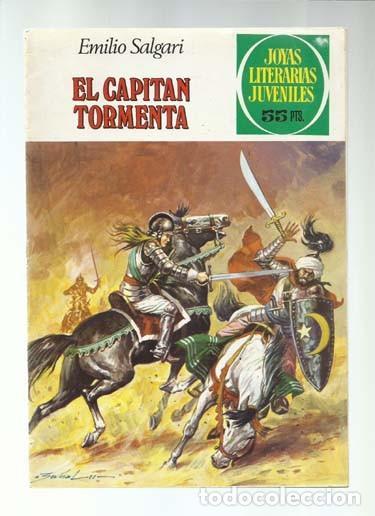 JOYAS LITERARIAS 239: EL CAPITÁN TORMENTA, 1981, BRUGUERA, PRIMERA EDICIÓN, BUEN ESTADO (Tebeos y Comics - Bruguera - Joyas Literarias)