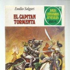 Tebeos: JOYAS LITERARIAS 239: EL CAPITÁN TORMENTA, 1981, BRUGUERA, PRIMERA EDICIÓN, BUEN ESTADO. Lote 222185147