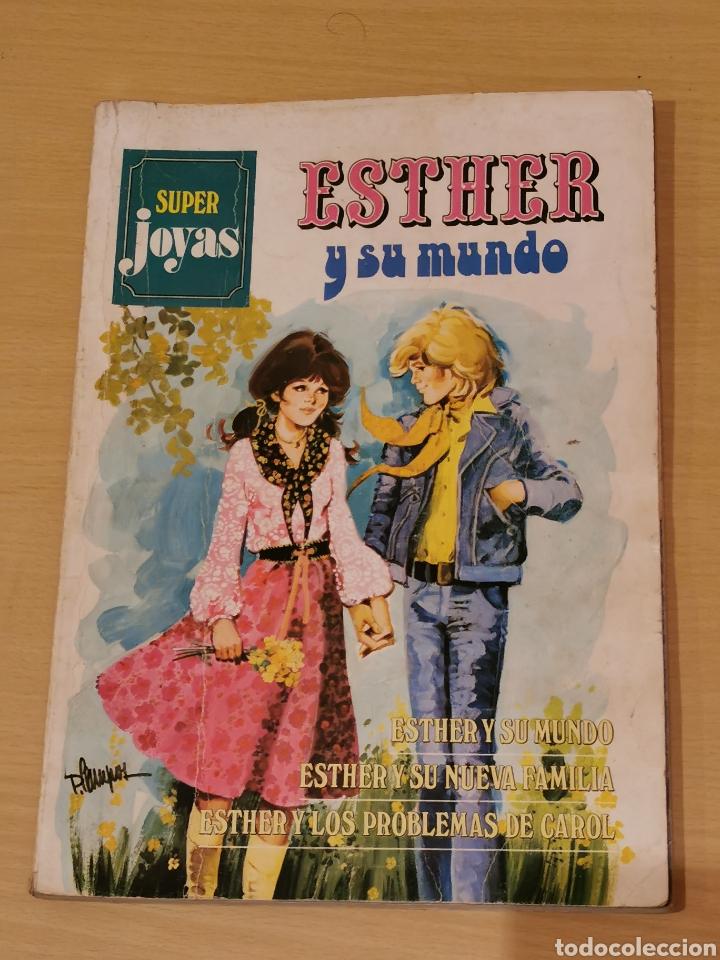 ESTHER Y SU MUNDO SUPER JOYAS Nº 1 BRUGUERA 1ª EDICIÓN 1978 (Tebeos y Comics - Bruguera - Esther)