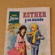 Tebeos: ESTHER Y SU MUNDO SUPER JOYAS Nº 1 BRUGUERA 1ª EDICIÓN 1978. Lote 191526906